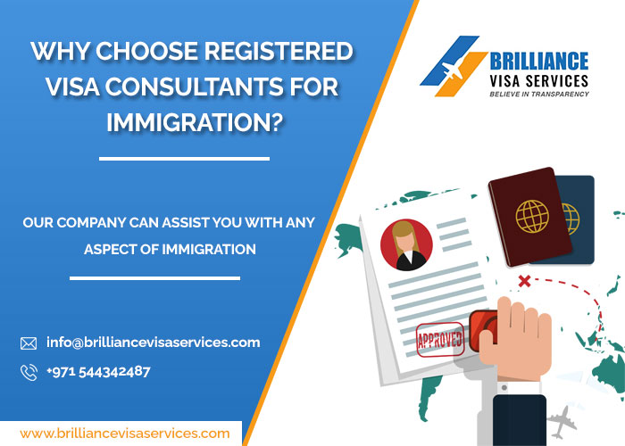 Why Is It Always Better To Select Registered Visa Consultants?