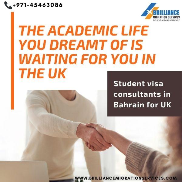 Student Visa Consultants in Bahrain for UK